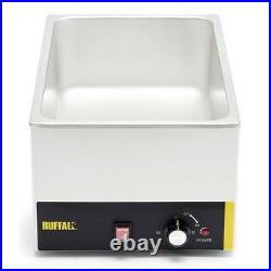 1/1 Gastronorm Size Electric Wet Heat Bain Marie Food Warmer