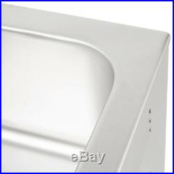 2 PACK Full Size 12 x 20 Electric Countertop Food Pan Warmer Commercial Buffet