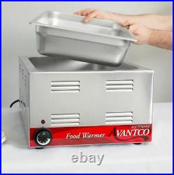 (2-Pack) 12 x 20 Full Size Electric Countertop Food Warmer 120V, 1200W