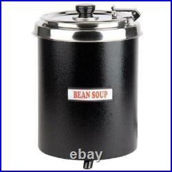 (2 Pack) 6 Qt Commercial Electric Soup Warmer Food Chili Nacho Cheese Restaurant