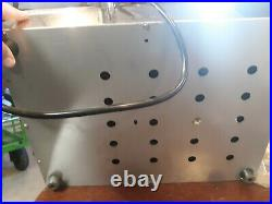 2 Pan Hot Well Food Warmer 110V 1000W Steam Table Steamer stainless US C2002