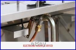 2-Pan LP Gas Bain-Marie Buffet Food Warmer 2-1/2Pans Propane