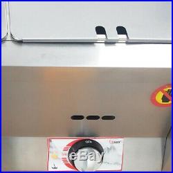 26L Pan Gas Food Warmer Restaurant Steamer Table Countertop Kitchen Suppy SALE