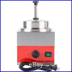 3.5 Qt. Electric Countertop Food Nacho Cheese Sauce Warmer Pump Dispenser 120V