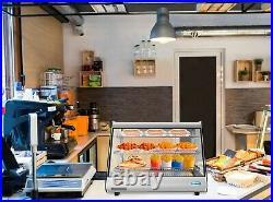 34 Commercial Countertop Food Warmer Display Case Merchandiser 5.6 cu. Ft