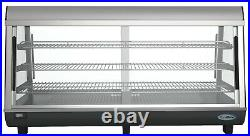 48 Commercial Countertop Food Warmer Display Case Merchandiser 6.5 cu. Ft