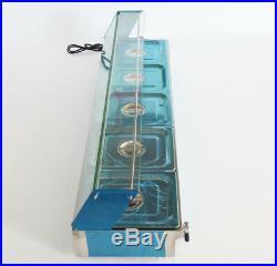 5 Pans Bain Marie Countertop Food Warmer Steam Table 1500W Restaurant Equipment