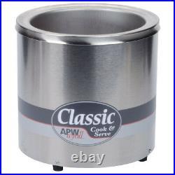APW Wyott RCW-7 Countertop Food Pan Warmer/Rethermalizer 7 Qt. Capacity