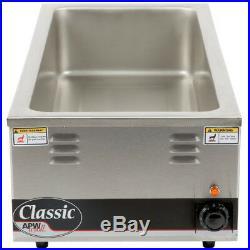 APW Wyott W-43V Countertop Food Pan Warmer