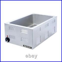 AdCraft Full Size Food Warmer 120V 9.25 H x 14.5 W x 22.5 D