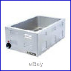 Adcraft Electric Food Warmer 120 volt full size holds 3 1/3 pans Great Value
