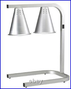 Adcraft HL-2 Dual Bulb Countertop Heating Lamp & Food Warmer