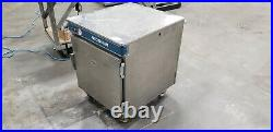 Alto-Shaam 750-S Half-Size Heated Holding Cabinet 120V, 2 racks, working clean