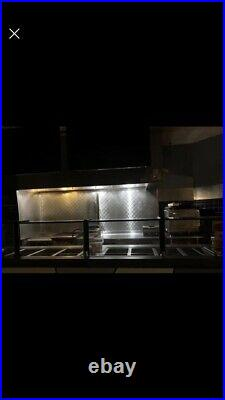 Atlas Metal WIH-4 Electric Drop In Hot 4 Well Steam Table Indivdual Controls