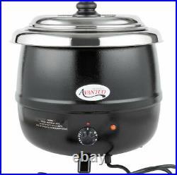 Avantco 14 Qt Black Electric Food Soup Kettle Warmer Commercial Restaurant NEW