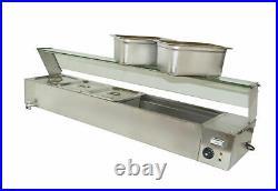 Brand New Food Warmer Equipment! 5-pans Buffet Food Warmer Countertop #190055