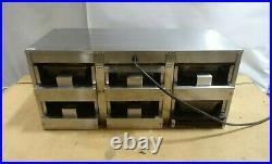 Carter Hoffman Modular 6 Bay Cabinet MC3W2S N01 6 Pan Countertop Food Warmer