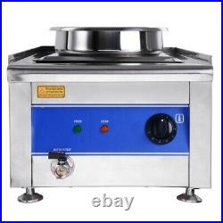 Commercial 7L Pots Food Warmer Countertop Hot Noodles Soup Fast Food Steam Table