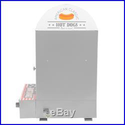 Commercial Electric Countertop Hot Dog Steamer Warmer Cooker Machine Bun Food