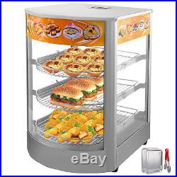 Commercial Food Warmer DisPlay Case Pizza Warmer 26 Pastry Warmer Magnetic Door