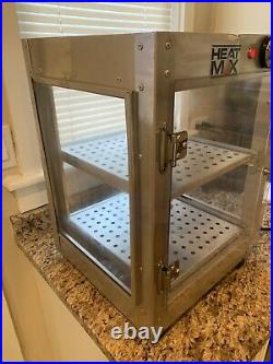 Commercial Food Warmer Pizza Pastry Hot Countertop Display Case Heatmax 14x14x20