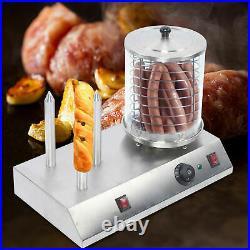 Commercial Home Hot Dog Steamer Warmer Cooker Machine Bun Food Countertop