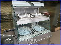 Counterline Vision V10hct660 Self Help Heated Buffet Countertop Display