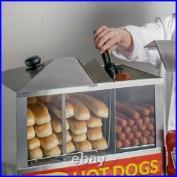 Countertop Commercial Hot Dog Steamer Warmer Cooker Machine Bun Food Electric