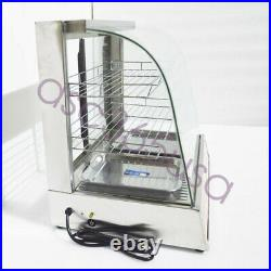 Electric Food Display Case Warmer Case Pizza Dessert Food Display Premium US New