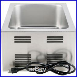 FULL SIZE Electric Countertop Food Pan COOKER WARMER Commercial Chafing Dish