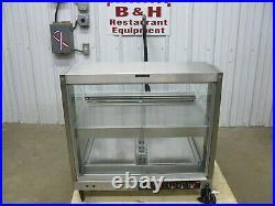 Hatco GRCDH-2PD Countertop Display Case Warmer Hot Food Merchandiser