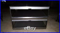 Hatco GRSDS-36D Countertop Heated 2 Shelf Food Warmer Merchandiser Glo-Ray Case