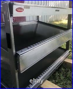 Hatco GRSDS/H-36D Countertop Heated 2 Shelf Food Warmer Merchandiser Warming