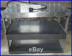 Hatco GRTB-33L Countertop Heated 2 Shelf Food Warmer Merchandiser Warming Unit