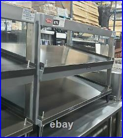 Hatco Grsds-41d 41 Countertop Heated Merchandising Display Shelf Food Warmer
