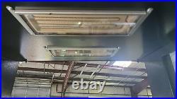 Hatco Hzms-24d 2 Tier Slant Food Warmer Heated Zone Merchandising Display Shelf