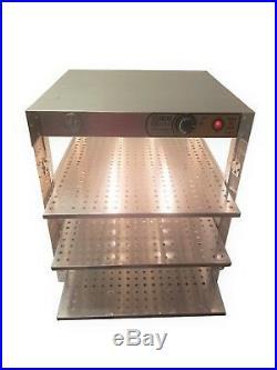 HeatMax 20x20x24 Commercial Pizza Food Warmer, Fits 18 Pizza