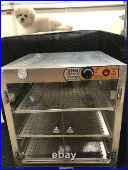 HeatMax 20x20x24 Commercial Pizza Food Warmer, Fits 18 Pizza model 202024