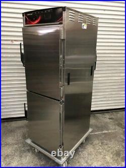 Heated Cabinet Hot Food Warmer Transport Pass Through NSF CresCor Restaurant3180