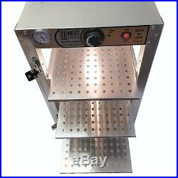Heatmax Commercial Countertop Food Warmer Display Cabinet Case 14 x 18 x 24