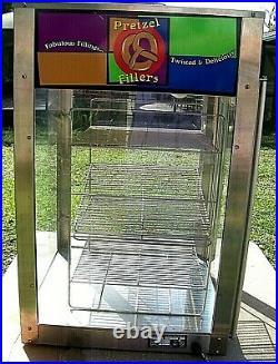 J & J Snack Foods Pretzel Warmer & Display Model 825 Concession Equipment