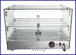 KoolMore 22 Self Service 2 Shelf Commercial Countertop Food Warmer Display C