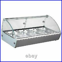 Marchia MSB4 30 Countertop Hot Food Display Warmer 4 Pans
