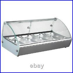 Marchia MSB4 30 Countertop Hot Food Display Warmer (4) x 1/3 Pans