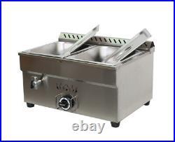 NEW! 2-Pan LPG GAS Food Warmer Food Heating For Half Size 10.5 x 13 x3Pan