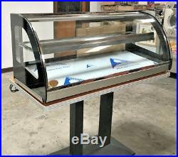 NEW 48 Dry Warmer Display Case Bakery Deli Restaurant Buffet Hot Food Model H12