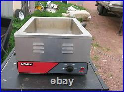 Nemco Full Size Countertop Food Warmer/cooker 1200 Watts 6055a