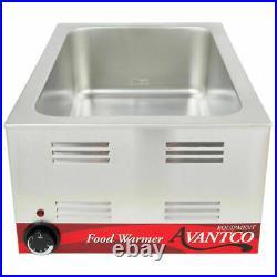 New Avantco Commercial Electric Food Warmer Countertop Restaurant Cooking
