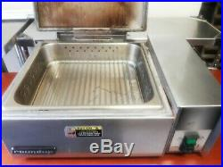 Roundup Steamer Countertop Antunes Auto Water Sandwich Food Warmer Tortilla