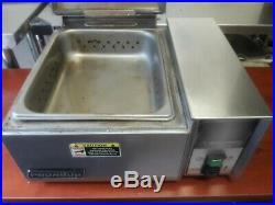 Roundup Steamer Countertop Food Warmer Antunes Auto Water Sandwich Burritos Hot
